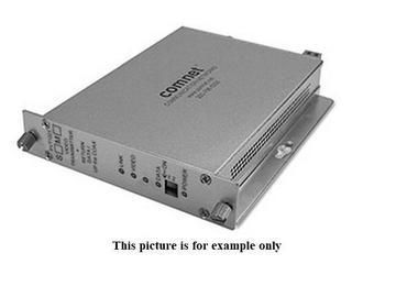 FVR1021S1 10 Bit SM 1 Fiber Digitally Encoded Video Extender (Receiver)/Data Transmitter by Comnet