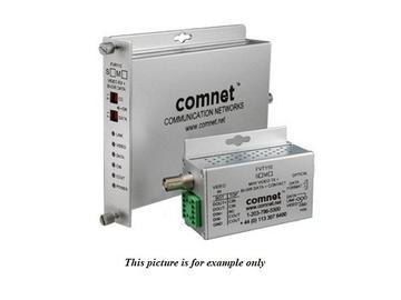 FVR110M1 MM 1 Fiber Digitally Encoded Video Receiver/Data Transceiver by Comnet