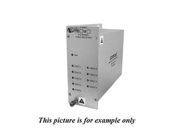 FVR801M1 MM 1fiber 8 Channel Digitally Encoded Video Extender (Receiver) by Comnet
