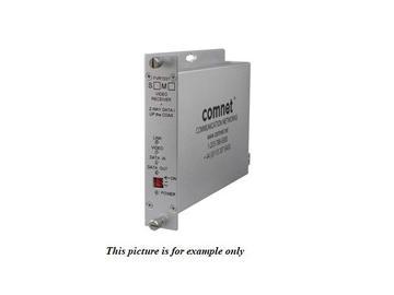 FVT1031M1 10 Bit MM 1 Fiber Digitally Encoded Video Extender (Transmitter/Data Transceiver) by Comnet