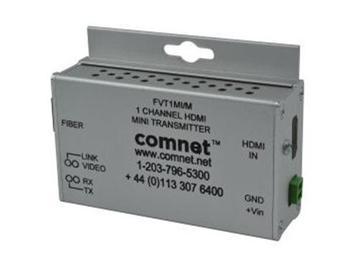 FVT1MI/M HDMI Multi Mode Fiber Optic Extender (Transmitter)/Small Size by Comnet