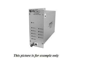 FVT81M1 MM 1fiber 8 Channel Digitally Encoded Video Extender (Transmitter) by Comnet