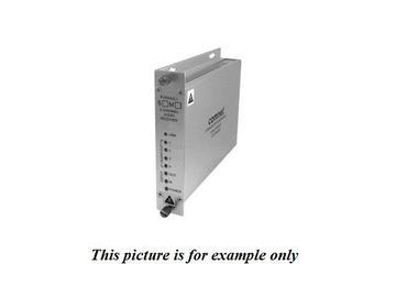 FVTXA2C1S SM 1Fiber 24bit 2 Channel Bi-directional Audio/Contact Closure Transmitter by Comnet