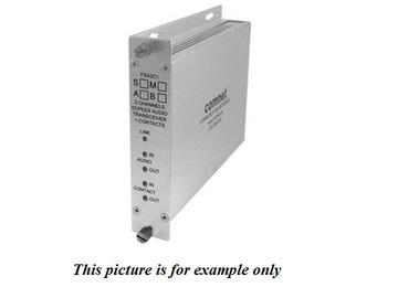 FXA2C1S1A SM 1Fiber Bi directional Audio/Bi-directional Contact Closure by Comnet