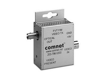 FVT11M Multimode fiber optic Mini AM Video Extender (Transmitter) by Comnet