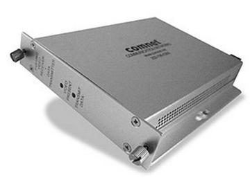 FVT15M2 Dual Fiber Optic Multimode Video Extender (Transceiver) by Comnet