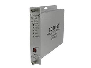 FDX57S1 SM 1Fiber RS232/422/485 2/4W Digitally Encoded Self Healing Ring Transceiver by Comnet
