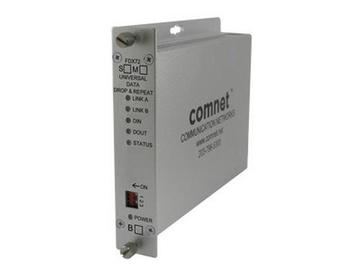 FDX72S1 1Fiber SM Universal Data Drop Repeat Extender (Transceiver) by Comnet