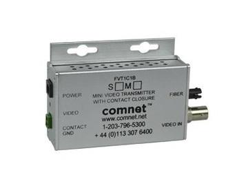 FVT1C1BM1/M 8-Bit M-mode Video Mini Extender (Transmitter) with Contact Closure by Comnet