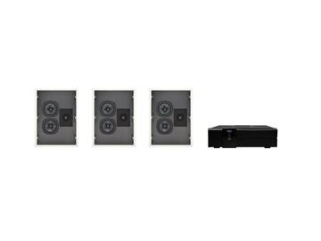 535 In-Wall 5.25 inch Woofers In-Wall Speakers Kit by dARTS