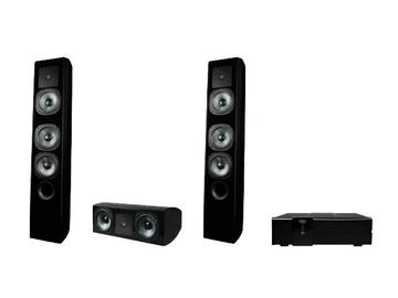 660 Tower 6.5 inch Woofers/3-Way Powerful Tower Speaker Kit by dARTS