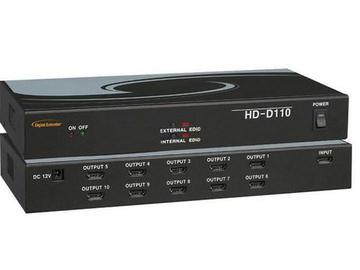 HD-D110 HDMI Distributor 1x10 by Digital Extender