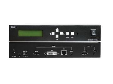 SR-31 3x1 CAT Video Scaler HDMI Switcher by Digital Extender