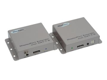 EXT-DP-2CAT7 DisplayPort Extender (Receiver/Sender) Kit over CAT7 by Gefen