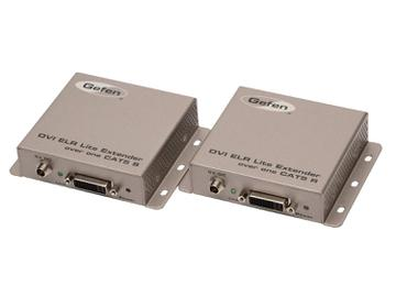 EXT-DVI-1CAT5-SR DVI ELR Lite Extender (ReceiverSender) Kit  over one CAT5 by Gefen