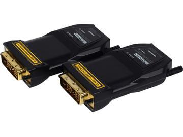 GEF-DVI-FM1500 DVI Extender (Receiver/Sender) Kit  over fiber with Recordable EDID by Gefen