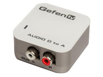 GTV-DIGAUD-2-AAUD Digital To Analog Audio converter by Gefen