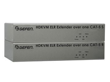 EXT-HDKVM-ELR HD KVM ELR Extender (Receiver/Sender) Kit HDMI and USB over One CAT5 by Gefen