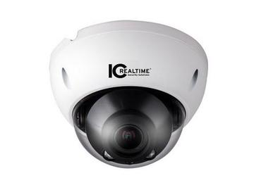 ICIP-D2732Z 2 Mp Ip Camera Ir Dome H.264/Jpeg Poe 2.8-12Mm Motor Lens by ICRealtime