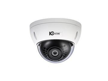 ICIP-D3010-IR-D I/O IR IP/3.0 MP/30 FPS CAMERA 60FT IR/TINTED DOME by ICRealtime