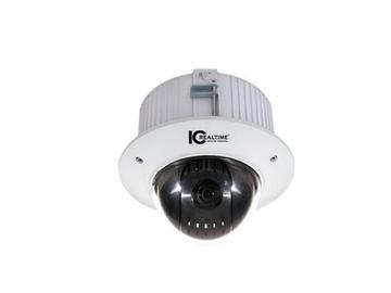 ICIP-P2012C In 2Mp Ip Ptz/12X Zoom/Net Ptz Recessed Ip Dome Camera by ICRealtime