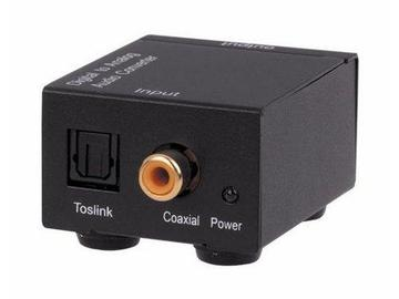 AUD2ACV Digital S/PDIF to Analog Stereo Audio Converter by KanexPro