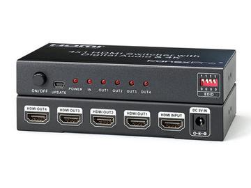 SP-HD1X44K 1x4 Port 4K UHD HDMI Splitter by KanexPro