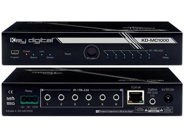 KD-MC1000 Wired/LAN Master Controller supports up to 8 Ports by Key Digital