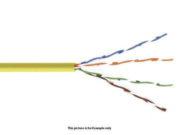 BC-6SLD-1000BL Bulk Cable Cat6-Solid Center Un-shielded twisted pair 1000ft BLUE by Kramer