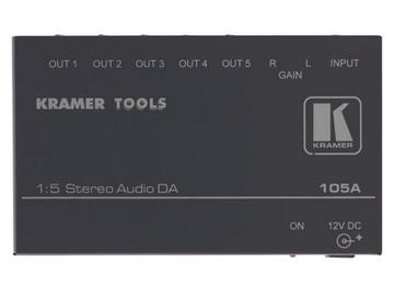 105A 1x5 Stereo Audio Distribution Amplifier by Kramer