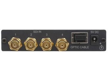 673R/T 4-Channel 3G HD-SDI over Optic Fiber Extender (Transmitter/Receiver) Kit by Kramer