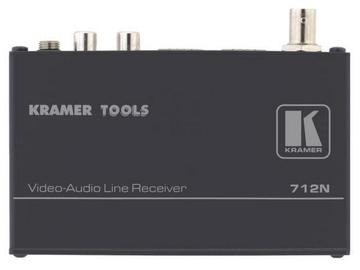 712N Composite Video/Stereo Audio over Twisted Pair Extender (Receiver) by Kramer