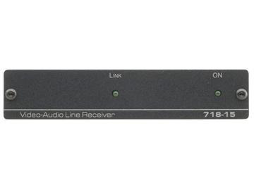 718-15 Composite Video/Stereo Audio over Twisted Pair Extender (Receiver)/1500m by Kramer