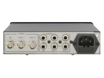 VM-2N 1x2 Composite Video and Stereo Audio Distribution Amplifier by Kramer