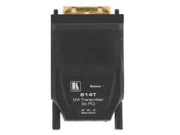 614R/T One-Fiber Detachable DVI Optical Extender (Transmitter/Receiver) Kit by Kramer