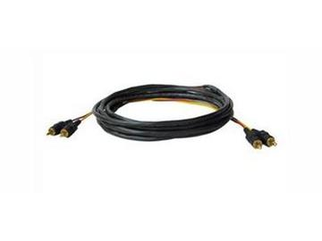 CP-2RAM/2RAM-50 Audio cable/ dual RCA (Red/Yellow)/ plenum rated/ molded connectors/ 50ft by Kramer