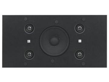 SPK-C819(W) Mono Half 2x1 Ceiling Tile Speaker w Bass Reflex by Kramer