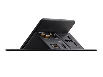 TBUS-201xl(B) Pop-Up Table Mount Multi-Connection Solution/Black by Kramer