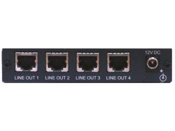 TP-114 1x4 VGA Video and HDTV over Twisted Pair Transmitter and Distribution Amplifier by Kramer