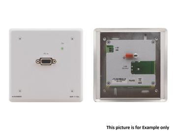 WP-110XL(B) VGA Wall Plate over Twisted Pair Transmitter with EDID/Black by Kramer
