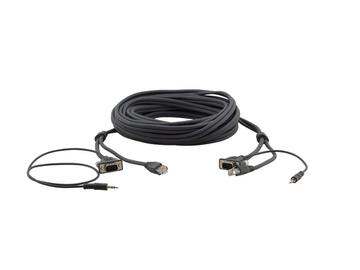 C-GMAC/GMAC-10 15-Pin HD/ 3.5mm/   RJ-45 (M-M) Cable - 10ft by Kramer