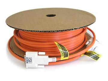 DDI-A100 330ft Fiber Optic DVI-D Cable EMI Shielded by Ophit