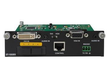 DT1000RV 4 LC Fiber UTP/Audio to DVI/VGA Extender (Transmitter) by PureLink