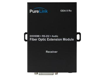 ODA II Rx 2 LC Fiber to DVI  Audio/RS-232 Full HD Extender (Receiver) by PureLink