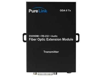 ODA II Tx DVI  Audio/RS-232 to 2 LC Fiber Full HD Extender(Transmitter) by PureLink