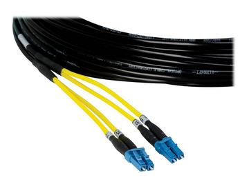 FLC2-050 Multi-Mode 2 LC Fiber Optic Cable w TotalWire Technology - 50m by PureLink