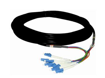 FLC4-100 M-Mode 4 LC Fiber Optic Cable w TotalWire Technology - 100m by PureLink