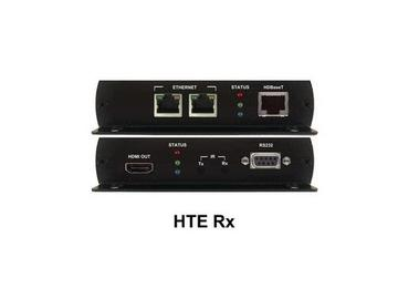 HTE Rx HDBaseT to HDMI/RS-232/IR/POE/Ethernet Ultra HD Extender (Receiver) by PureLink