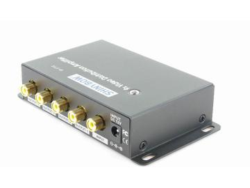 SB-3702RCA 1x9 Composite Video Digital Distribution Amplifier by Shinybow