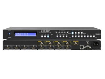 SB-5684K 8x4 HDMI UHD 4K2K Matrix Switcher w Full EDID Management by Shinybow